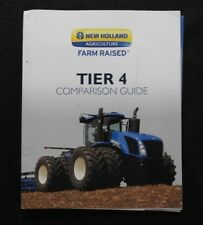 NEW HOLLAND T7000 T8000 T9000 TRACTOR DEALER COMPARISON MANUAL JOHN DEERE MASSEY