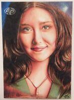 Firefly The Verse Kaylee Frye Artist Proof Sketch Card by Gary Kezele