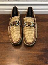 donald j pliner Mens Shoes Slip On With Buckles Sz 10.5 US