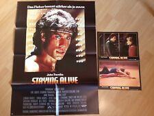 Filmposter * Kinoplakat * A1 * + 2 AHFs * Staying Alive * 1983 * John Travolta