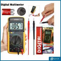 Digital Multimeter Circuit Tester LCD Voltmeter Ammeter AC DC OHM Current Buzzer