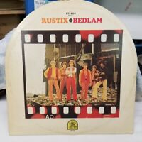 "Vintage 1969 The Rustix ""Bedlam"" LP - Rare Earth Records (HS-1639) EX+"