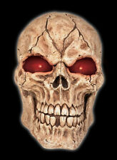 Giant Skull With Led Eyes & Sound - 21 Inches