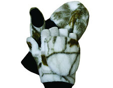 ScentBlocker Whitewater Sherpa GLO-MITT Glove Mitten Realtree AP Snow Large