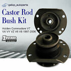 Front Castor Rubber Z Bar Radius Rod Bush Kit Commodore VT VX VY VZ V6 V8 97-06