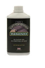 RENOVO Soft Top Reviver - Black - 1 Litre - Convertable Roof - RHRBLA1111
