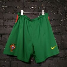 Portugal Nike Total 90 Football Shorts Green Mens Size M