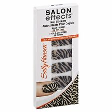 Sally Hansen Salon Effects Nail Stickers, Faux Real 150 - 18 tabs  ( 72 PCS )