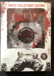 Saw V [ Uncut Collector's Edition Box Set ] (DVD) NEW