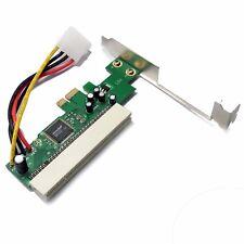 PCI-E Express x1 Steckplatz zu  PCI / PCI-X 32-Bit-Adapterkarte für WIN7/WIN8