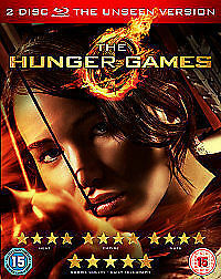 The Hunger Games (Blu-ray, 2012, 2-Disc Set) free UK delivery!!  new / sealed!!