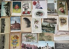 Huge Lot Of Antique And Vintage Postcards 125 Total
