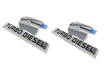 00-12 Dodge Ram Cummins Turbo Diesel Nameplate Emblem Badge Decal Mopar New (2)