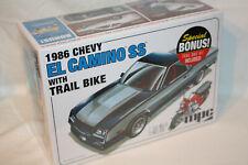 Chevrolet '86 El Camino + Trail Bike - 1:25 - mpc