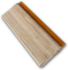 Intbuying Screen Printing Squeegee 13 Inches Long Wooden Ink Scraper 75 Duromete
