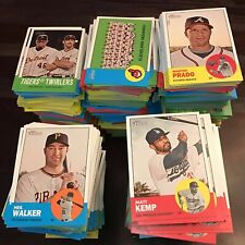 2012 TOPPS HERITAGE BASE CARDS #1 thru #100 -- PICK THE CARD(S) YOU NEED