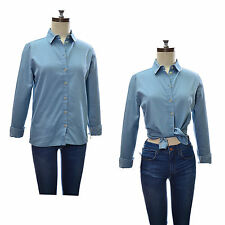 TopShop Collared Semi Fitted No Tops & Shirts for Women
