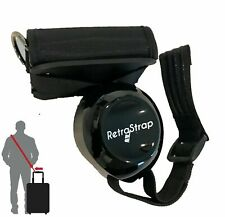 RetraStrap Hands Free luggage suitcase Carry-on. Retractable Strap- anti-theft