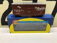 Athearn Ho Scale D&RGW Rio Grande 40' HI-Cube Boxcar RD #67427 RTR NOS