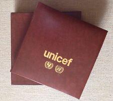 ÁLBUM UNICEF SERIES Y SOBRES ONU UNITED NATIONS