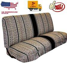 Truck Full Size Bench Seat Cover Baja Saddle Blanket Fits Ford Chevrolet Dodge