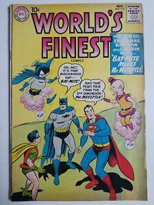 World's Finest (1941) #113 - Very Good - Superman, Batman, Bat-Mite, Mxyzptlk