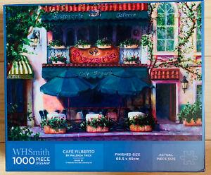 Cafe Filberto 1000 Piece Jigsaw Puzzle Malenda Trick Pizzeria Italian WH SMITH