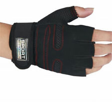 New Sports Exercise Training Fitness Weight Lifting Gym Gloves Long Wrist Wrap J