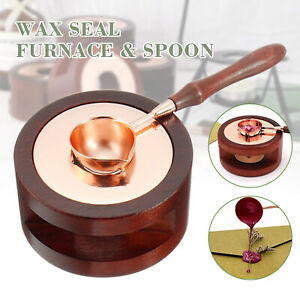 Retro Wax Seal Melting Furnace Wax Sticks for Wax Sealing Stamp