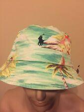 Polo Ralph Lauren bucket hat Beige Hawaiin Reversible Large / XLarge