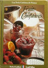 Fruits et confitures  - Les trois Cuisines de France - Gault Millau - 1987 -
