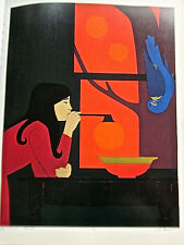 Will Barnet Poster  of Silent Season-Offset Lithograph Unsigned 16x11
