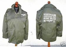 ESERCITO USA Charlie DONT SURF Vietnam M65 Giacca Field S-3XL CAMPO USMC Marines