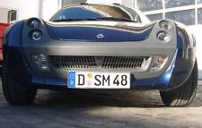 Kühlergrill Frontgrill Edelstahl poliert Smart Roadster 452 Shark NEU!!!