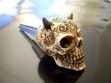 Custom Skull Blank key SUZUKI GSXR Intruder Marauder Bandit Boulevard C90/M109R