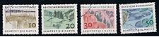 GERMANIA 4 FRANCOBOLLI NATURA 1969 usato