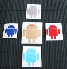 adesivo ANDROID sticker decal window vetro wall computer internet technology