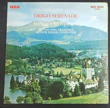 Drigo Serenade/Fiedler/Boston Pops/RCA Korean Pressing XLRL1-7305 (LSC-3023) VG+