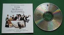 Four Weddings & A Funeral Songs From + Sting Barry White Gloria Gaynor + CD