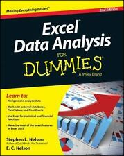 Excel Data Analysis For Dummies-ExLibrary