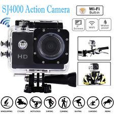 "Full HD 1080P 30M Sports Action Waterproof Camera DV DVR 2.0"" SJ4000 Helmet"