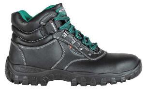 Scarpe antinfortunistiche calzature uomo alte da lavoro Plutone S3 SRC COFRA