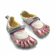 Vibram Fivefingers Womens Size 37 (6.5) Pink White Running Athletic Shoes