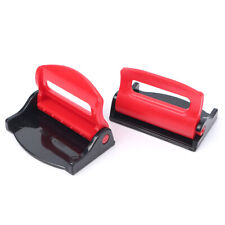 Red Auto Car Seatbelt Stopper Clip Clamp Safety Seat Belt Buckle Strap Adjuster