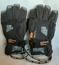 New listing Men's Sz Xl Grenade Sub Zero Arctic Protection Black Survival Gloves Snowboard