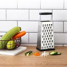 Edelstahl Vierkantreibe Küchenreibe universal Gemüsereibe Käsereibe Hobel Raspel