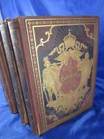 Köppen Fedor Buch Die Hohenzollern und das Reich. 4 Bände um 1884 Adelshäuser