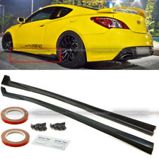 For 10-12 Hyundai Genesis Coupe Sport Style Urethane PU Side Skirt Body Kit