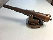 Antique Bronze Custom Made Maritime Black Powder Signal Cannon