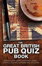The Great British Pub Quiz Book More Than 1000 Questions NEW (Paperback) Book